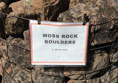 Moss Rock Boulders