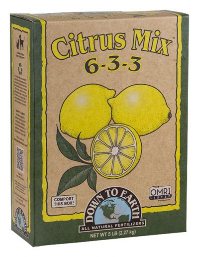 Citrus Mix 6-3-3 All Natural Fertilizer