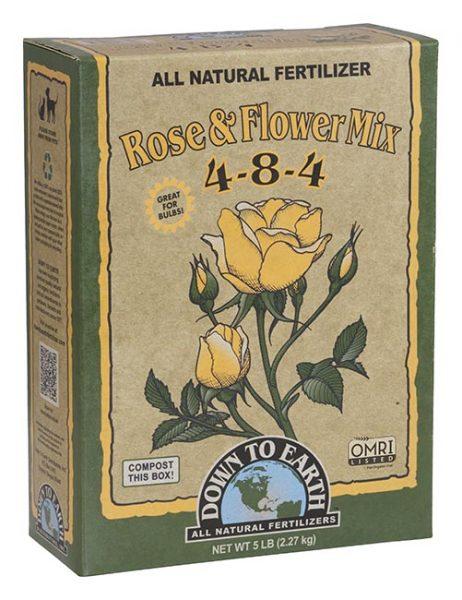 Rose & Flower Mix 4-8-4 All Natural Fertilizer