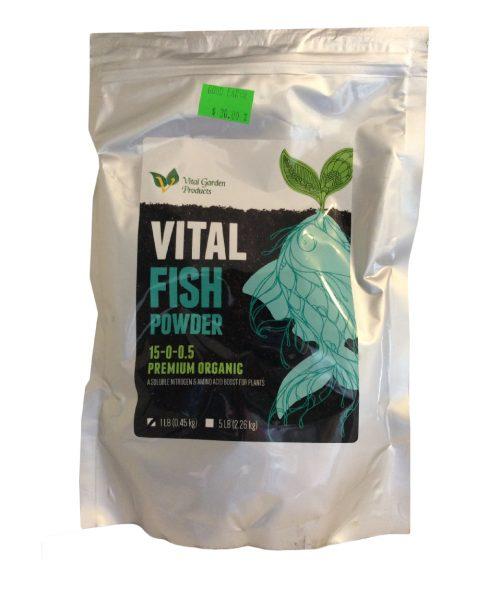 Vital Fish Powder 15-0-0.5