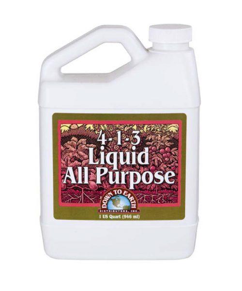 Liquid All Purpose Fertilizer 4-1-3