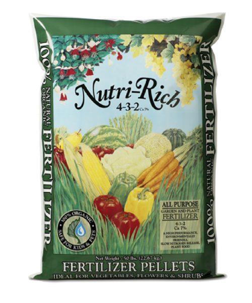 Nutri-Rich 4-3-2 All Purpose Fertilizer