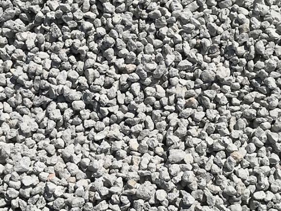 Pumice Pathway Pea Gravel - White